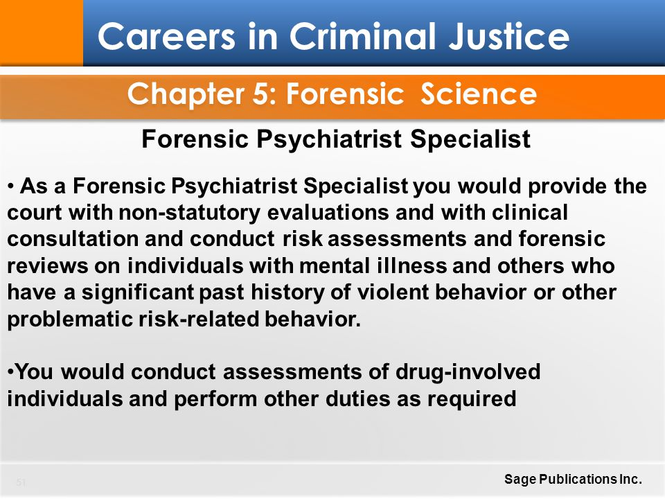 Chapter 5: Forensic Science