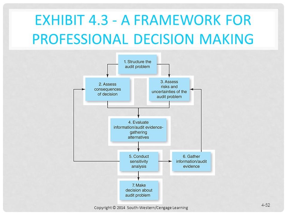 Exhibit 4.3 - A Framework for Professional Decision Making