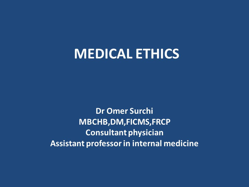 Assistant professor in internal medicine