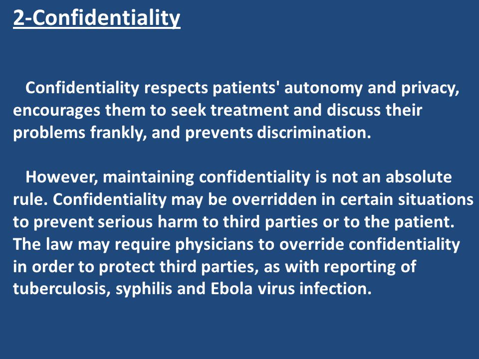 2-Confidentiality