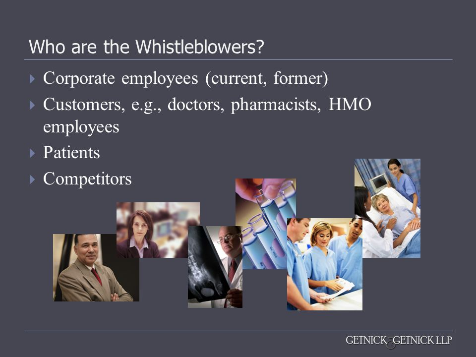 Who are the Whistleblowers