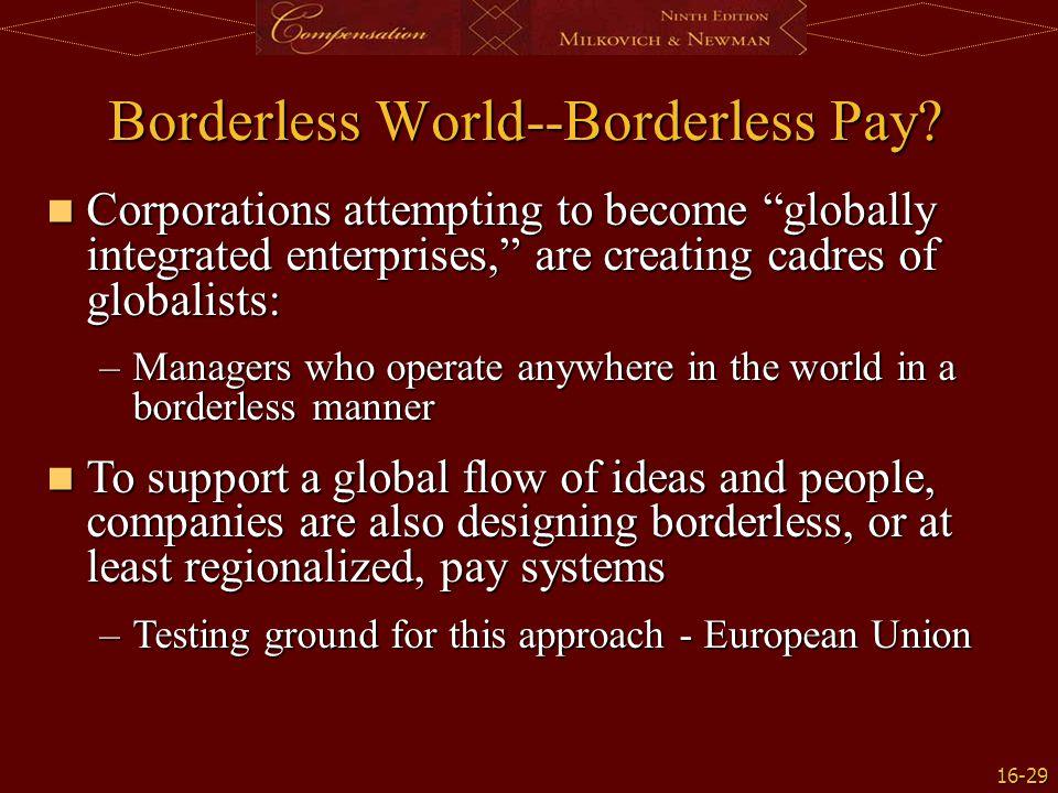Borderless World--Borderless Pay