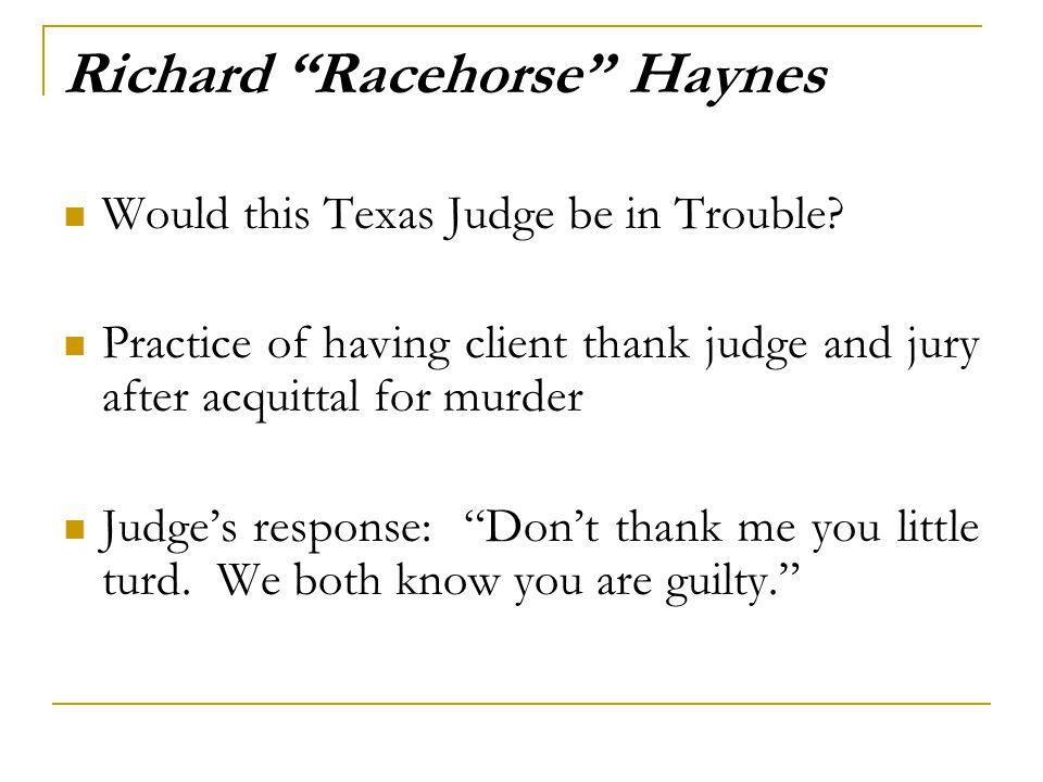 Richard Racehorse Haynes