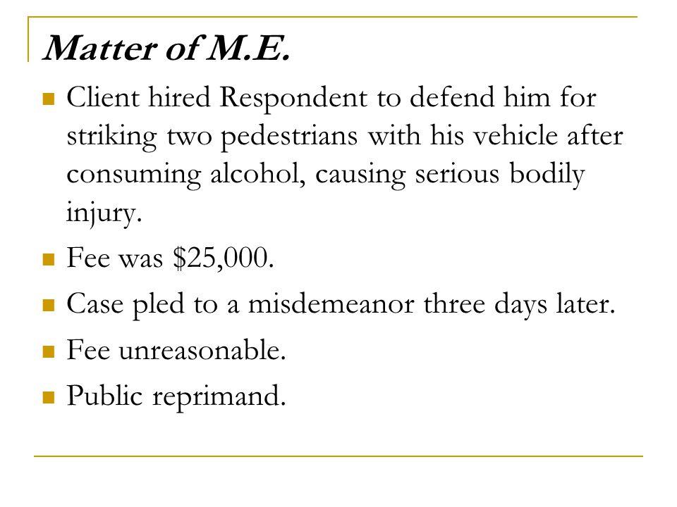 Matter of M.E.