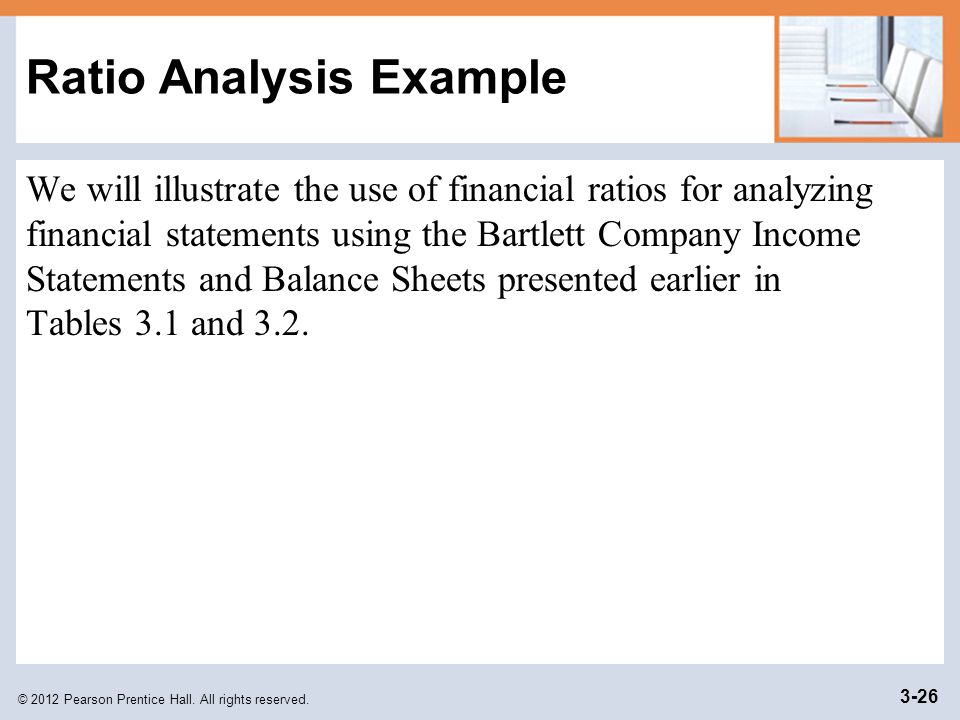 Ratio Analysis Example