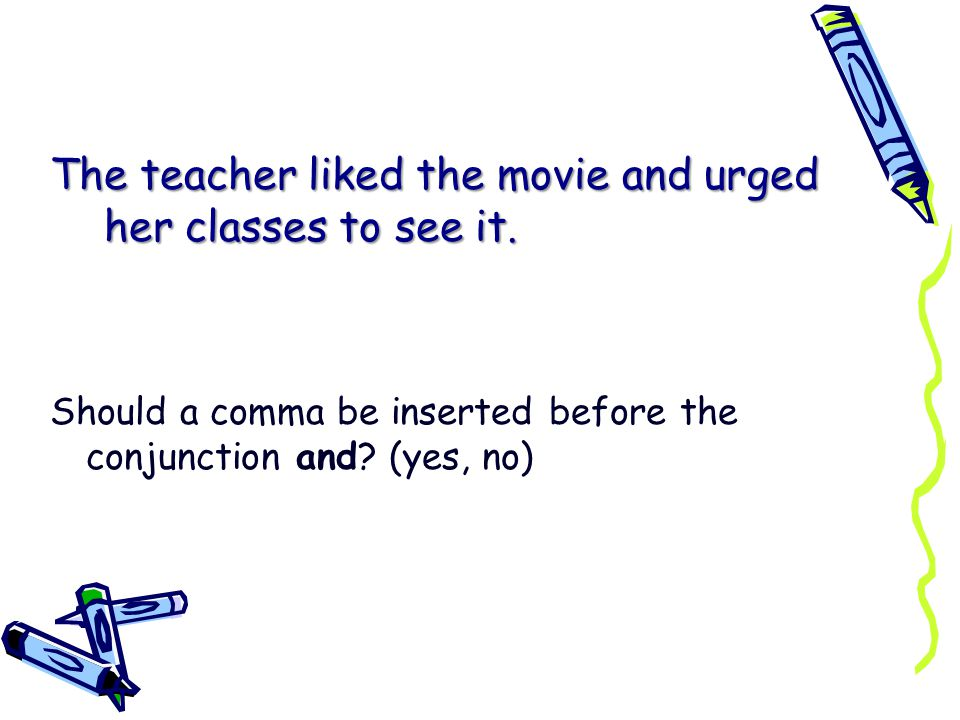 The teacher liked the movie and urged her classes to see it.