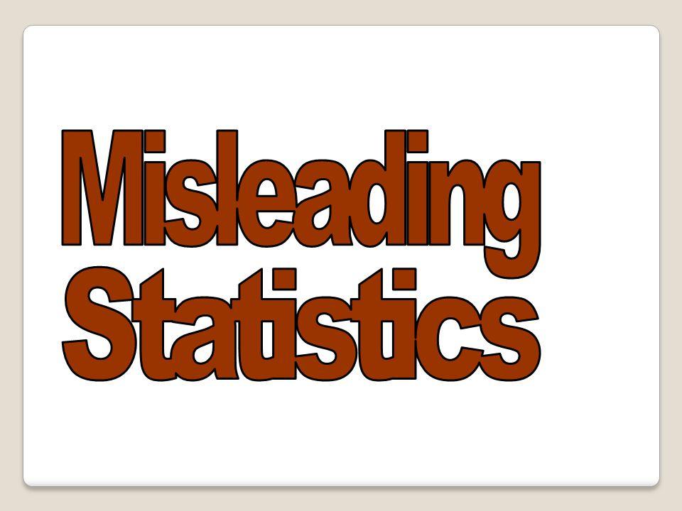Misleading Statistics 63