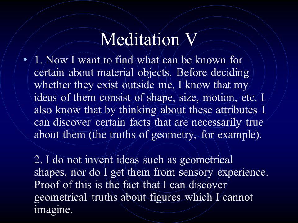 Meditation V