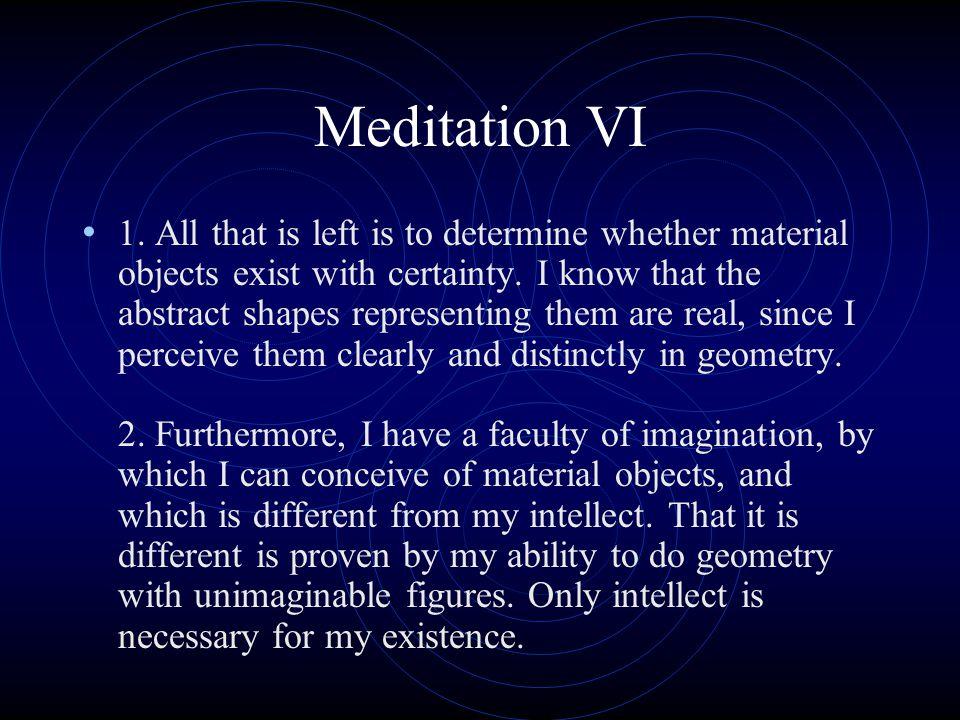 Meditation VI