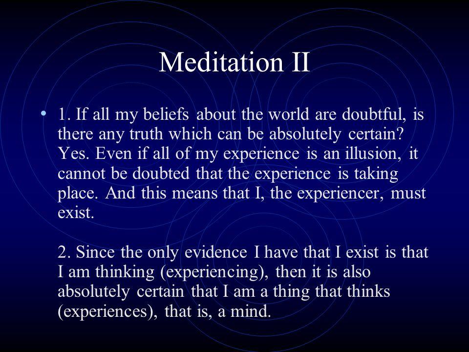 Meditation II