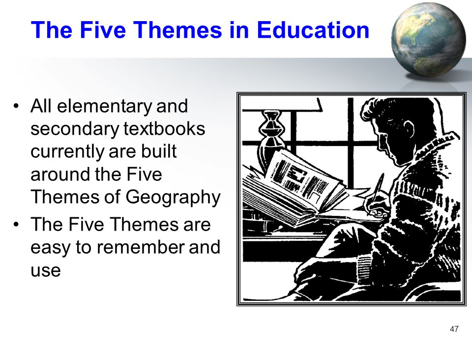 The Five Themes in Education