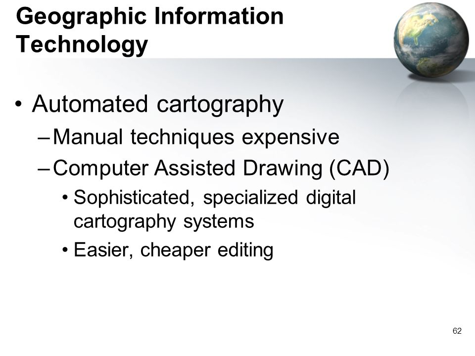 Geographic Information Technology