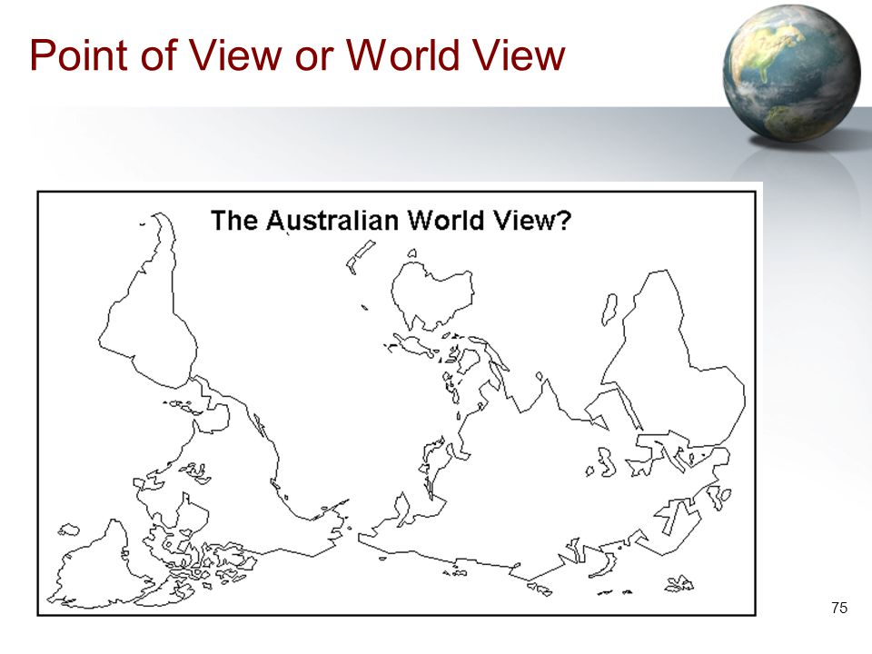 Point of View or World View