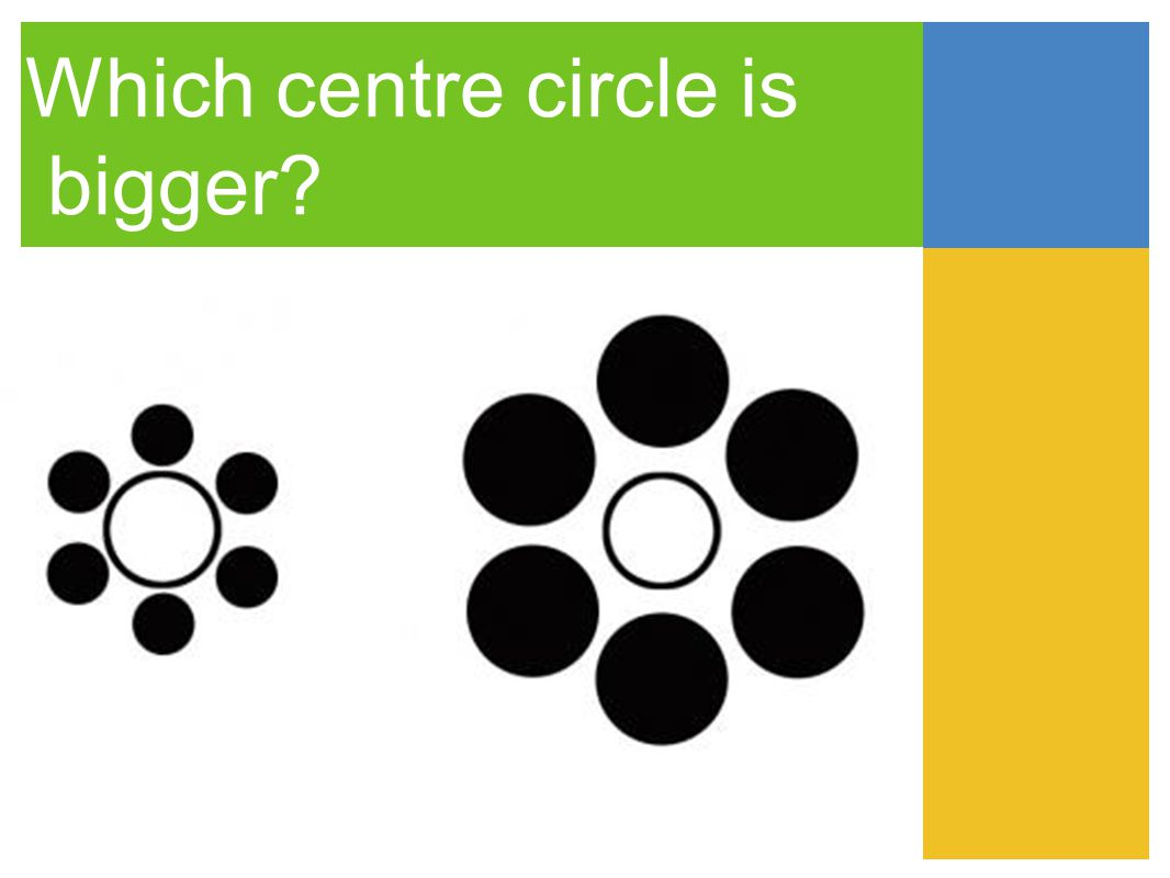 Which centre circle is bigger
