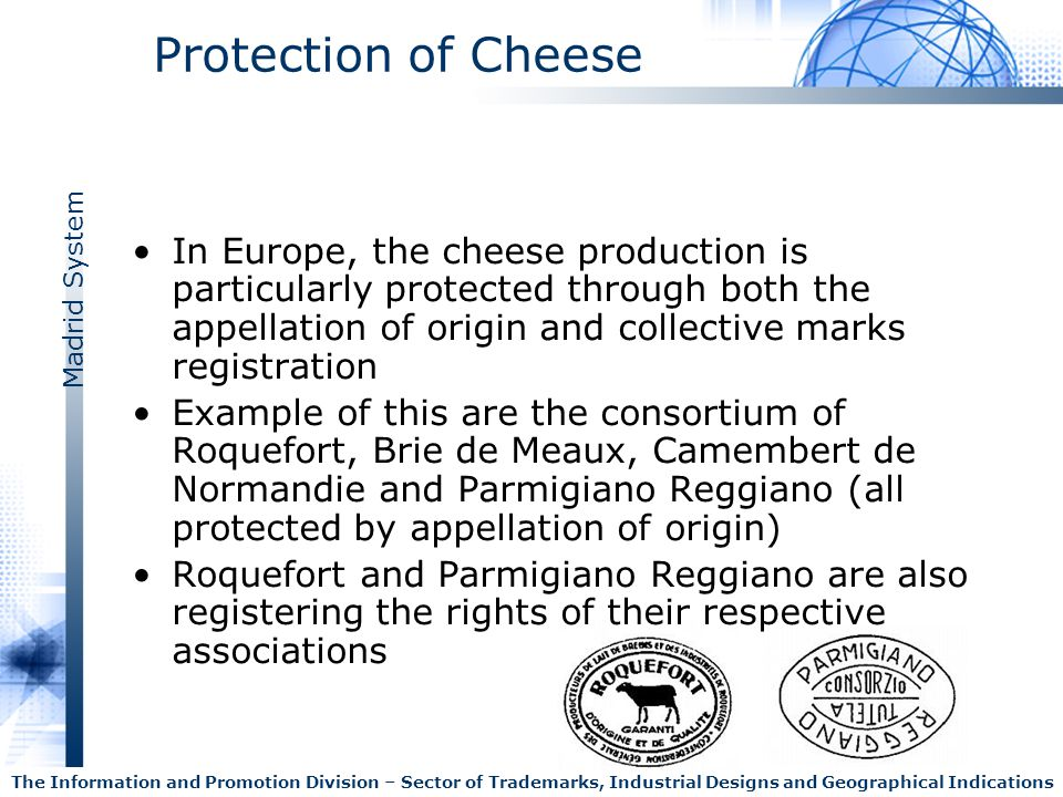 Protection of Cheese