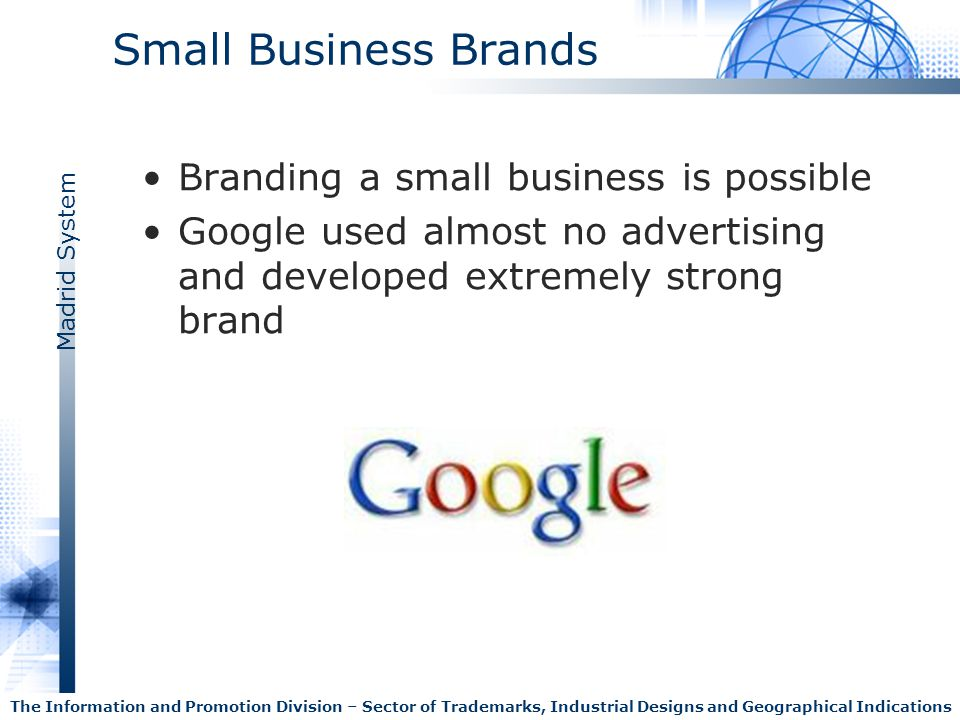Small Business Brands Branding a small business is possible