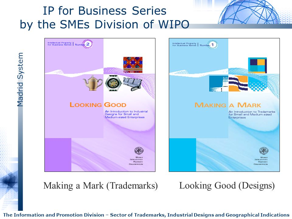IP for Business Series by the SMEs Division of WIPO
