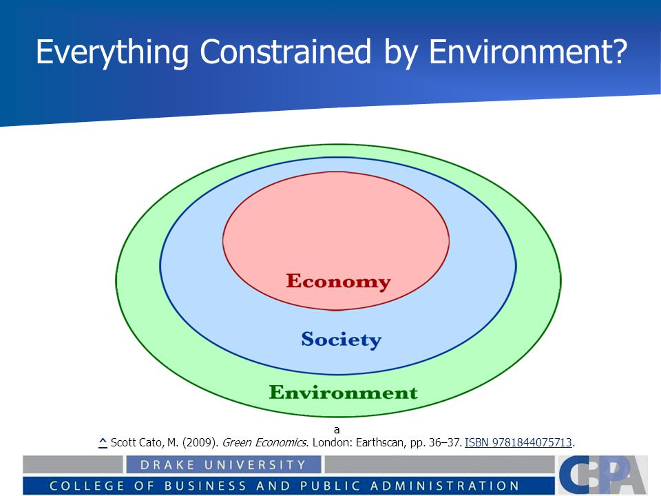 Everything Constrained by Environment