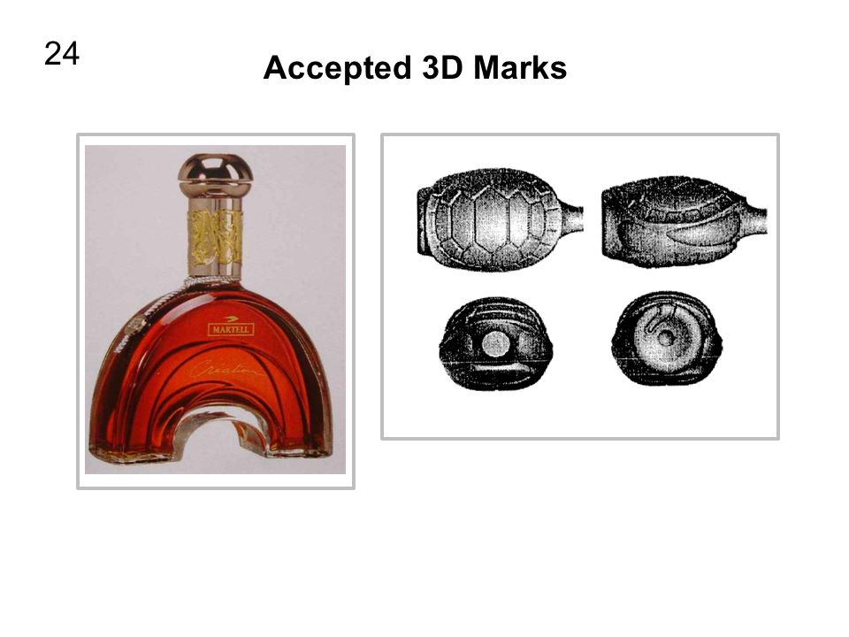 24 Accepted 3D Marks