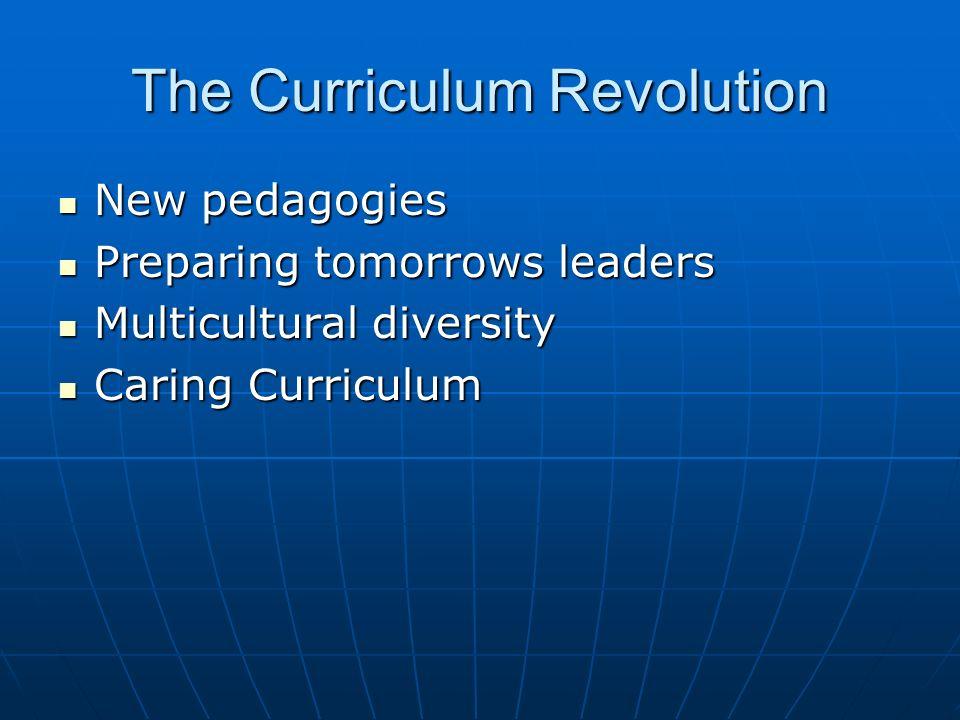 The Curriculum Revolution