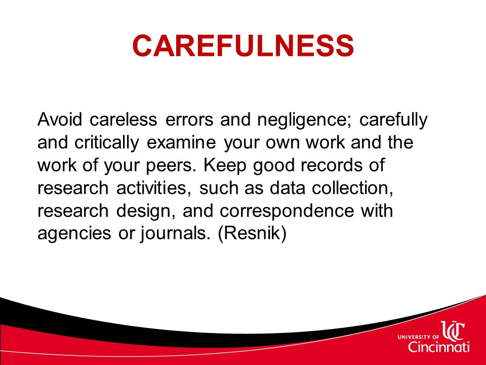 CAREFULNESS