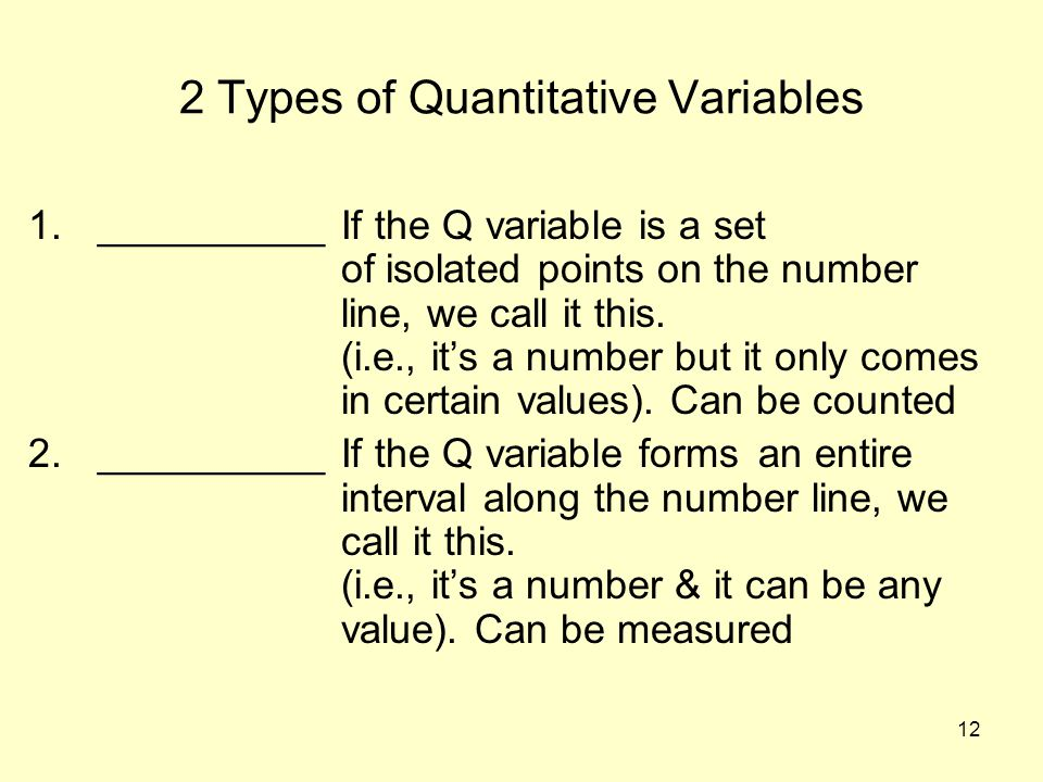 2 Types of Quantitative Variables
