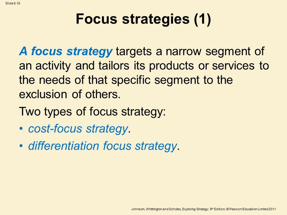 Focus strategies (1)