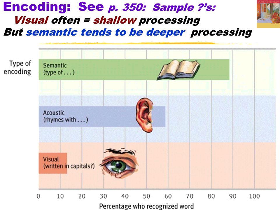 Encoding: See p. 350: Sample