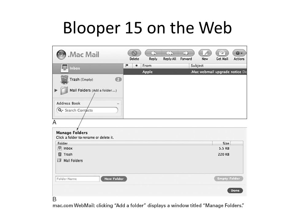Blooper 15 on the Web