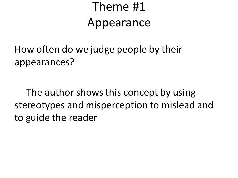 Theme #1 Appearance