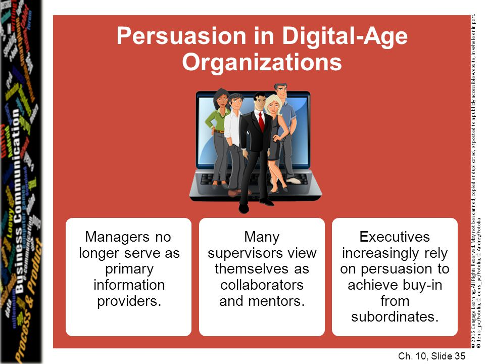 Persuasion in Digital-Age Organizations