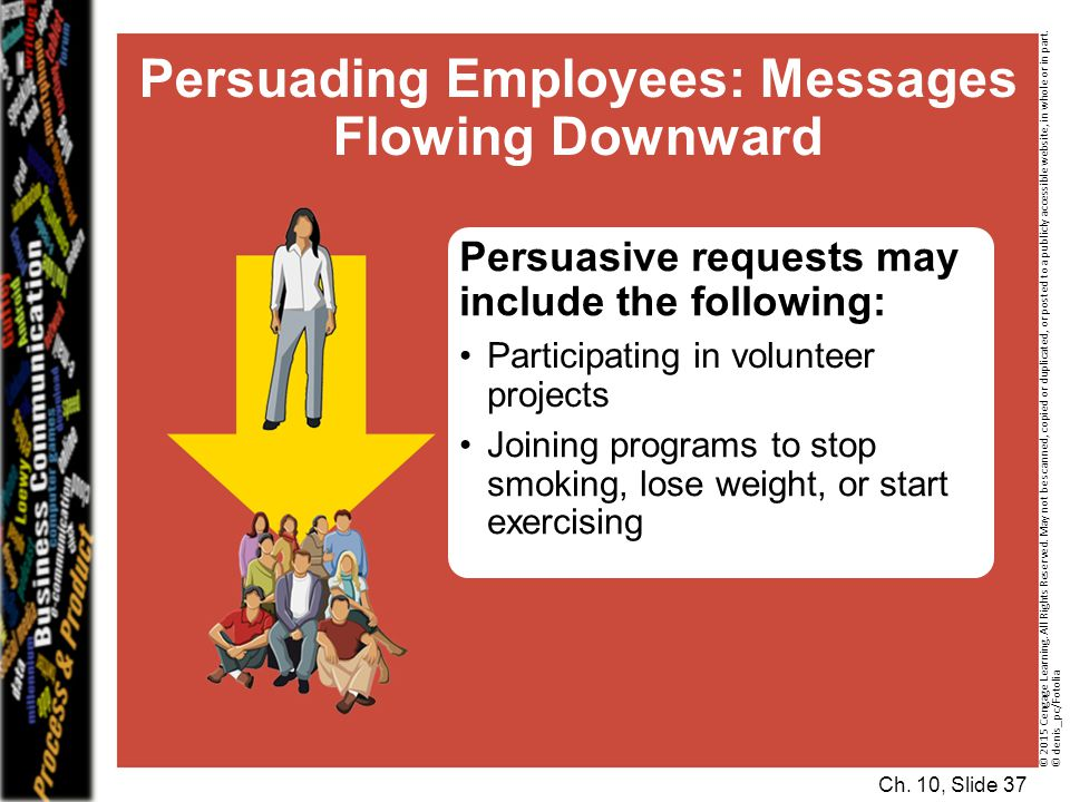 Persuading Employees: Messages Flowing Downward