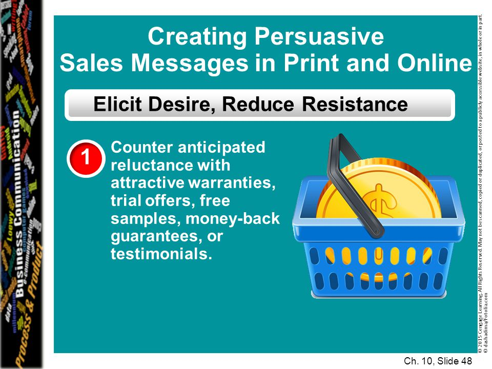 Sales Messages in Print and Online Elicit Desire, Reduce Resistance