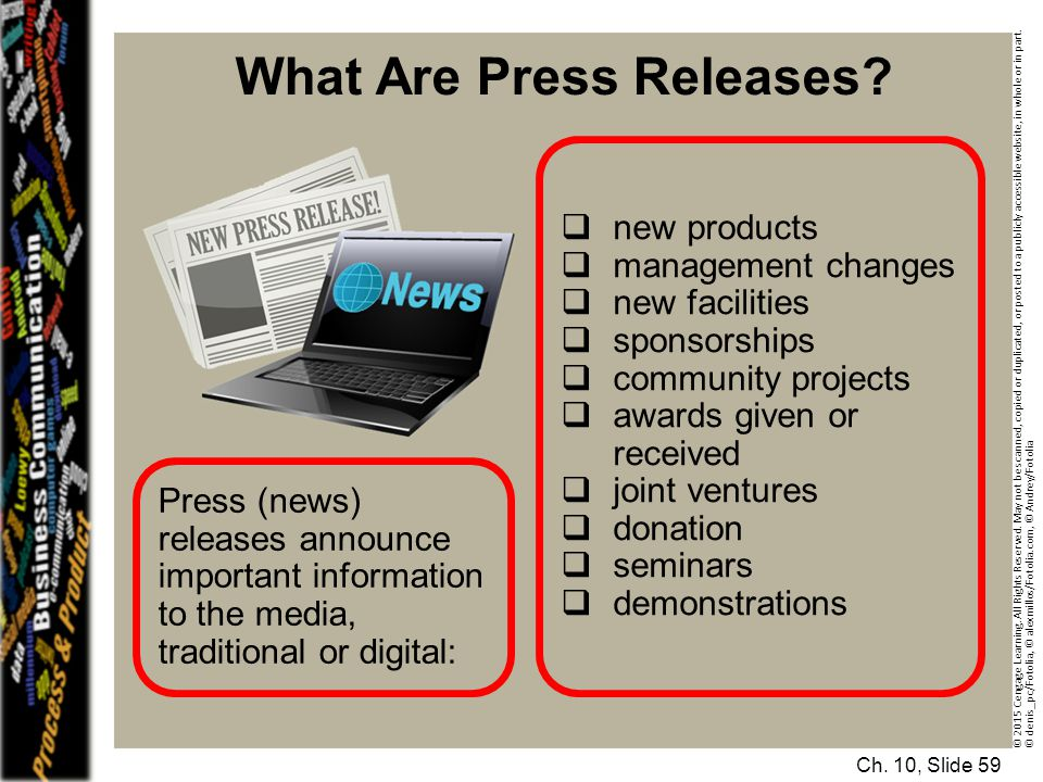 What Are Press Releases