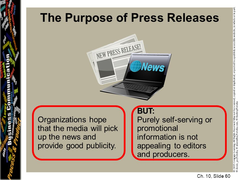 The Purpose of Press Releases
