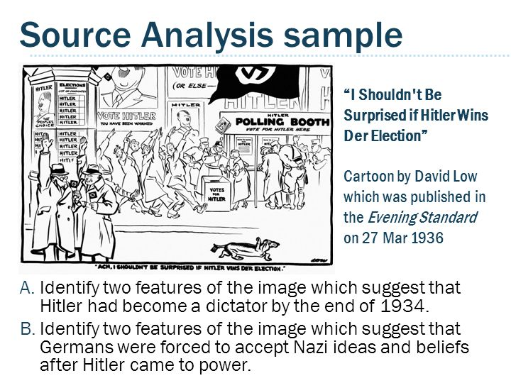 Source Analysis sample