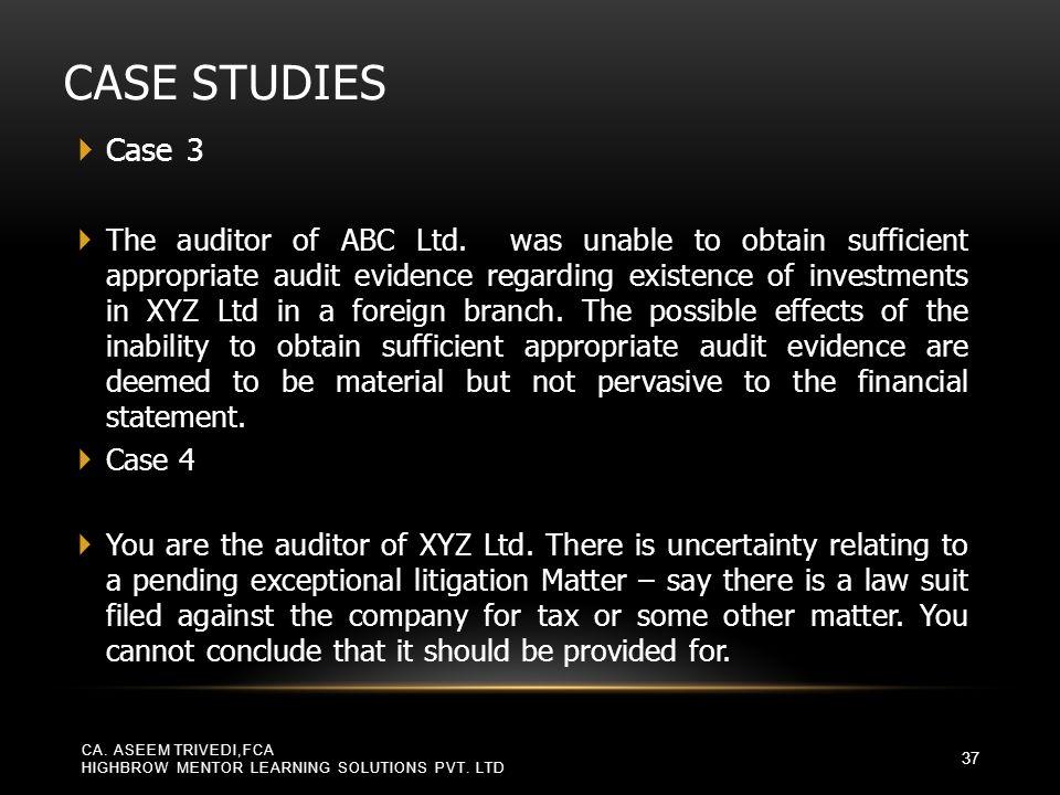 Case Studies Case 3.