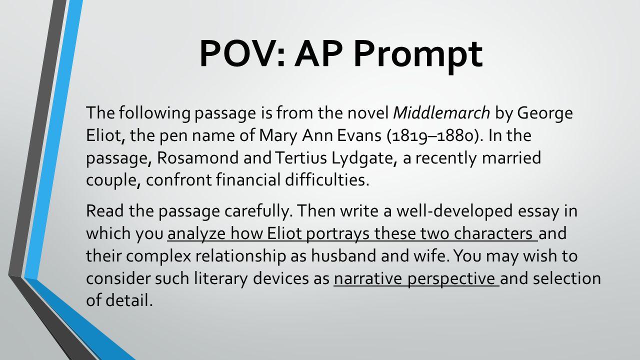 POV: AP Prompt