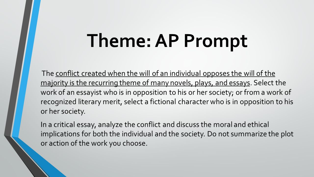 Theme: AP Prompt