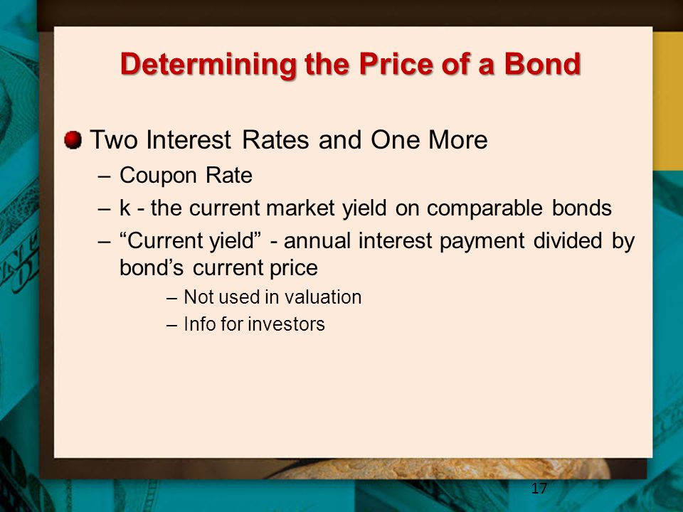 Determining the Price of a Bond