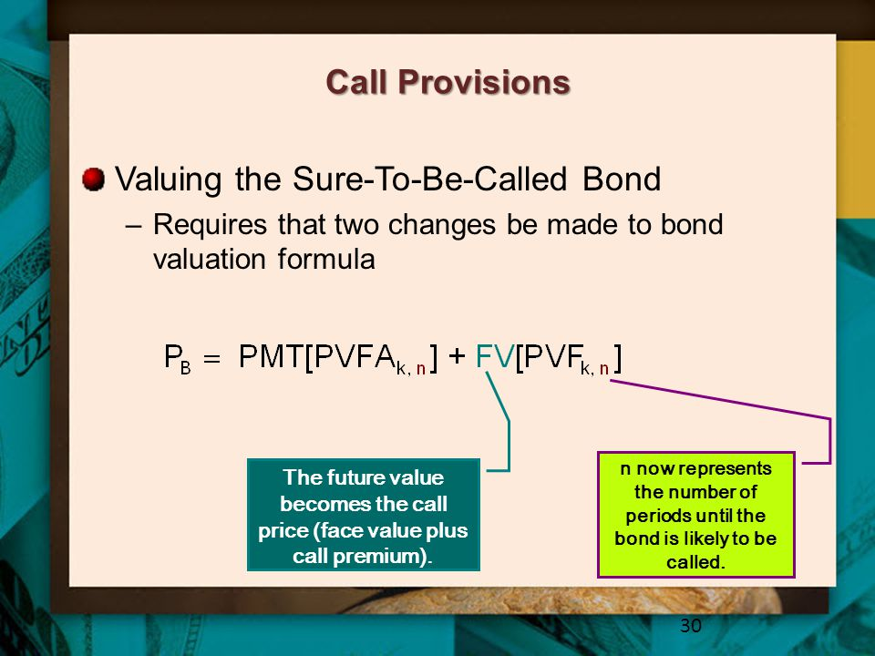 Valuing the Sure-To-Be-Called Bond