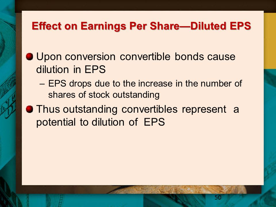 Effect on Earnings Per Share—Diluted EPS