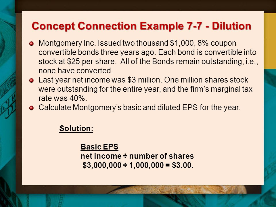 Concept Connection Example 7-7 - Dilution