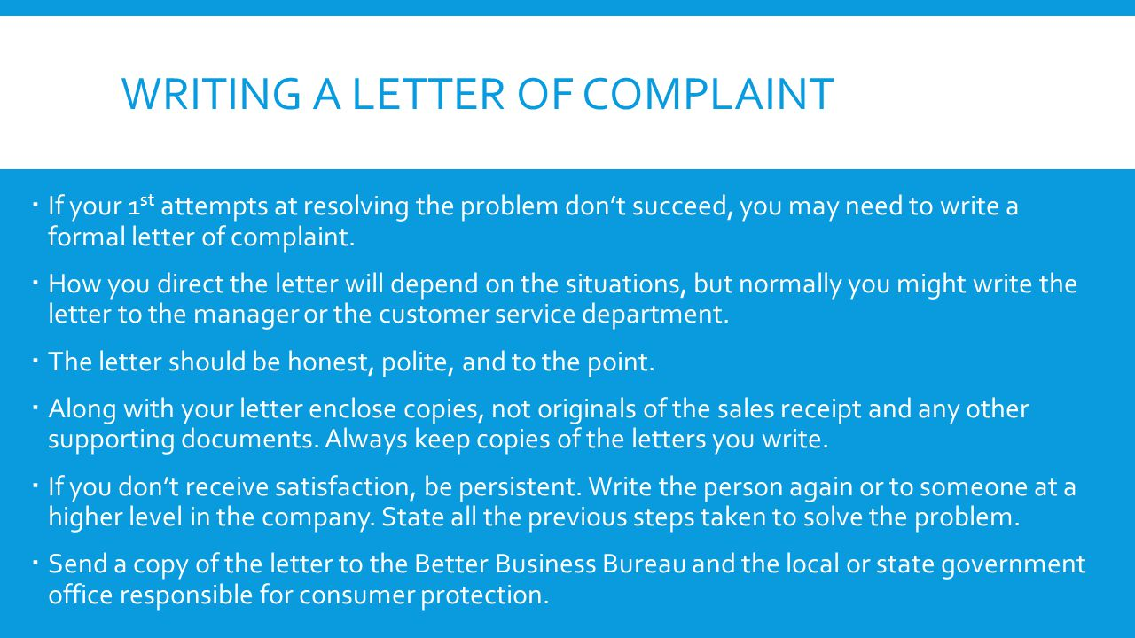 customer care and complaint resolution policies commerce essay File a complaint learn about ways to address a dispute or concern these include online chat, calling customer care, binding arbitration, or small claims court.