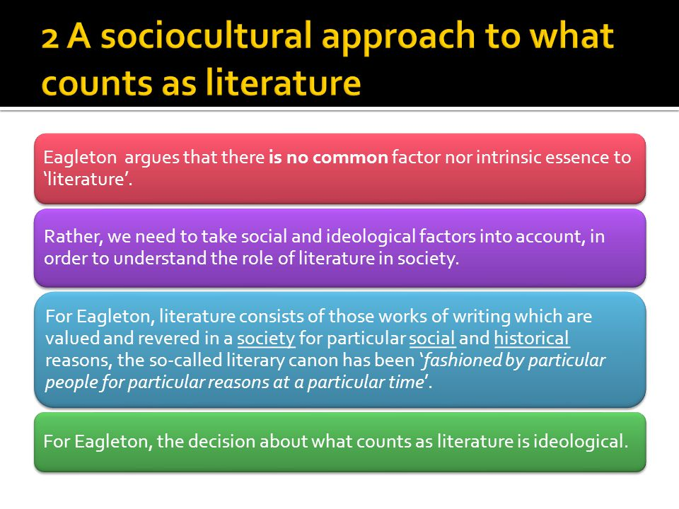 definition of literature and society