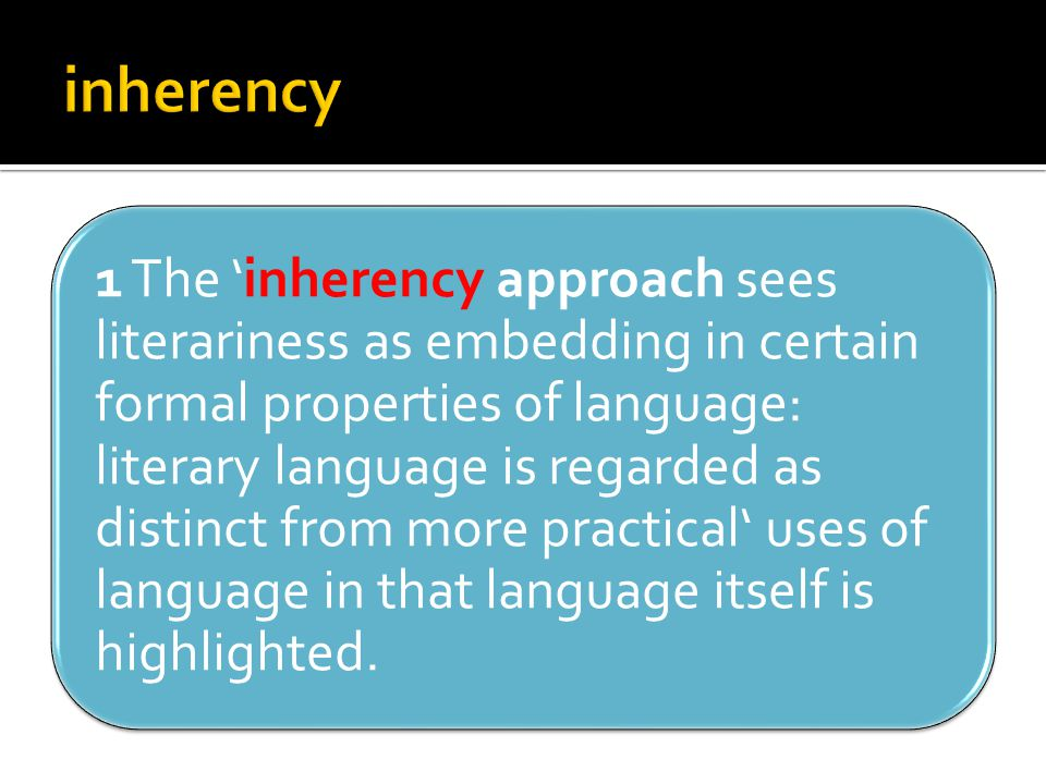 inherency