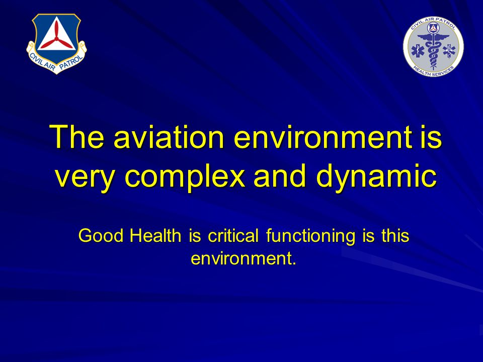 The aviation environment is very complex and dynamic