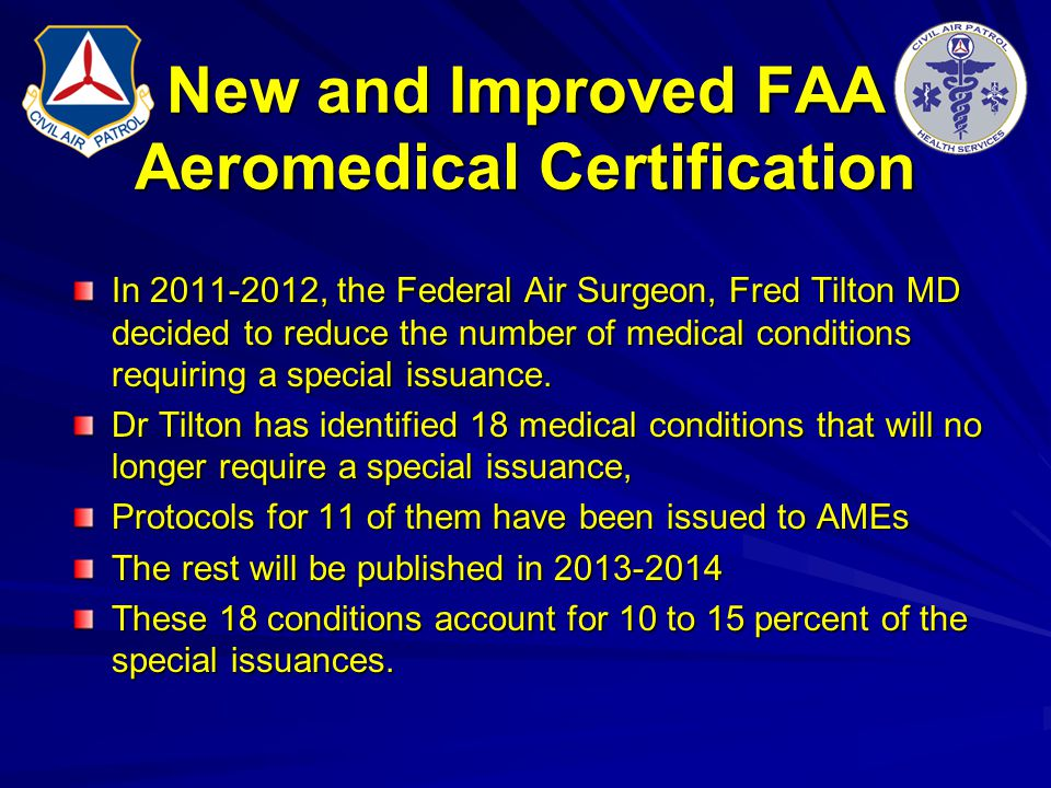New and Improved FAA Aeromedical Certification