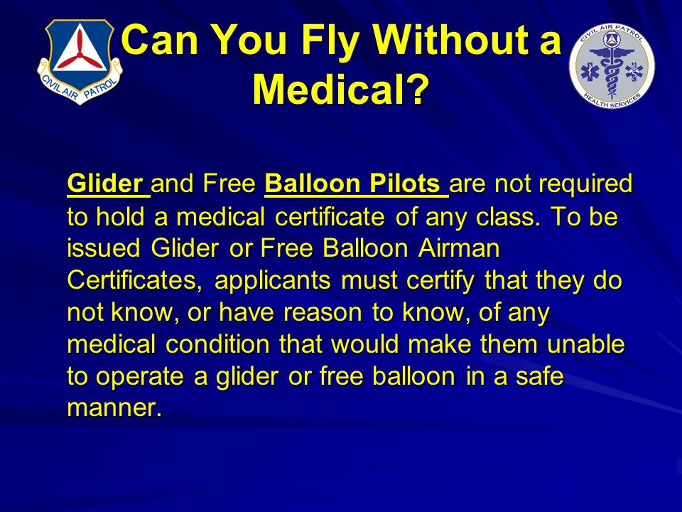 Can You Fly Without a Medical