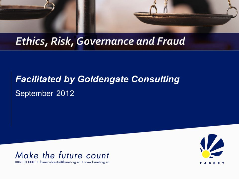 Facilitated by Goldengate Consulting